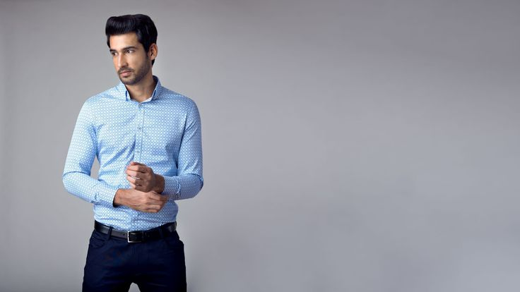Formal Shirts for Men Online: Buy the best shirts online at Andamen.com at the best price