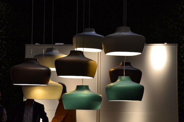 colorful lamp collection
