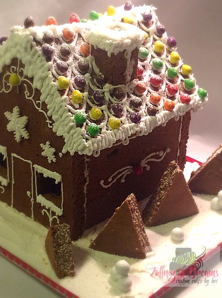 Ginger Bread House inspired by Chef Adam Cremona from Adam ate to much and Learn Cake Decorating Online