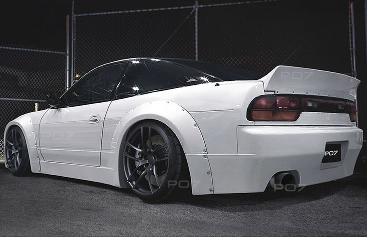Nissan 200 SX S13 Widebody, Rally Body Kit Front Sill Rear Spoiler Rear Bumper …