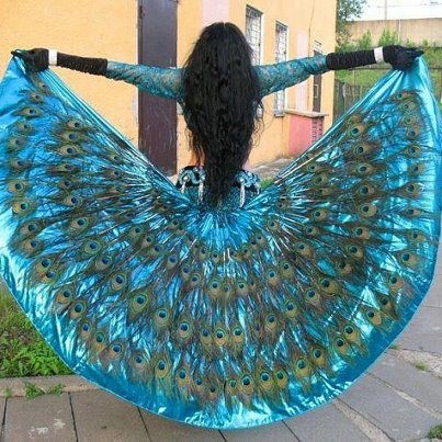 Peacock skirt - beautiful.  Go to www.YourTravelVideos.com or just click on photo for home videos and much more on sites like this.