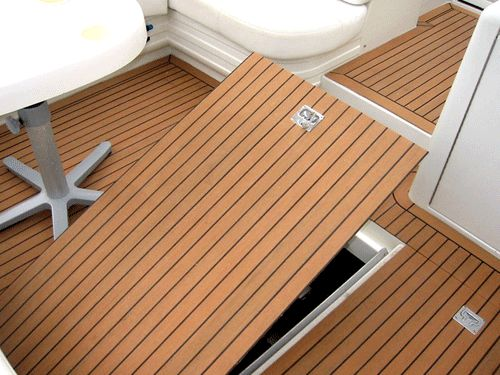 Eco teak synthetic wpc boat deck pvc