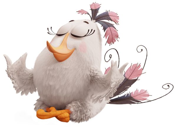 The Angry Birds Movie Matilda PNG Transparent Image