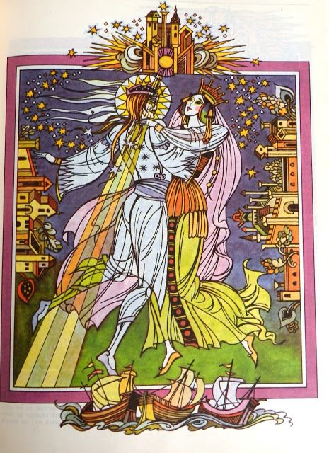 Val Munteanu - Legende populare rom�ne�ti illustrations