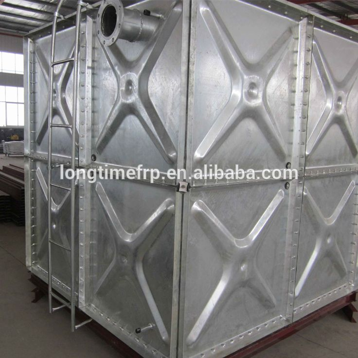 100000 liters stainless steel/Hot-dip galvanized steel water storage tanks