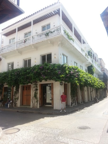 Historic center, Cartagena, Colombia