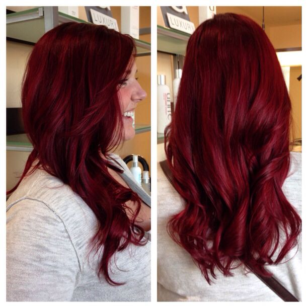Goldwell red head - Sam  Beautiful! Wonder what shade it is? mmm...