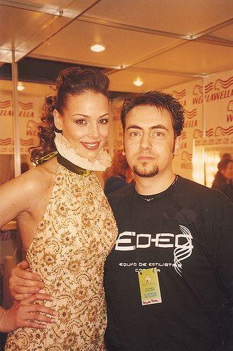 Eva Gonzalez Miss España y Gregorio Porras
