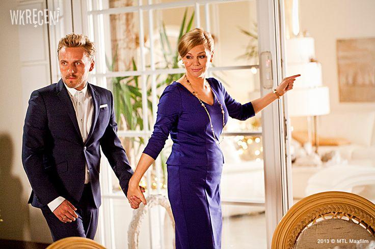 Paweł Domagała i Monika Krzywkowska