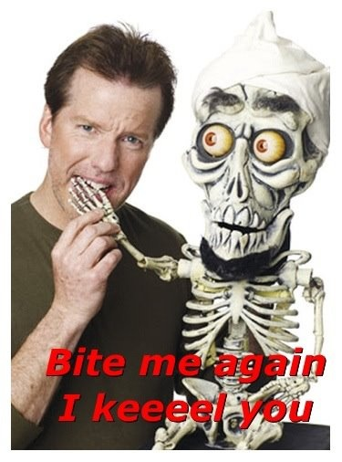 Jeff Dunham & Achmed. I just brought tickets to see you in July. I'm Elated & can't wait!!!