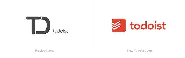 Todoist App Rebranding and New Web Interfaces