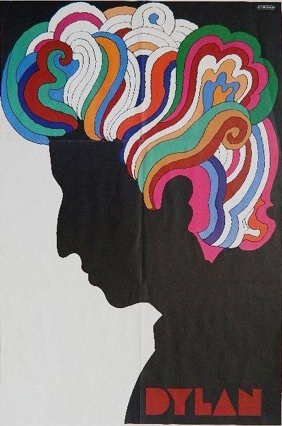 Milton Glaser poster Dylan