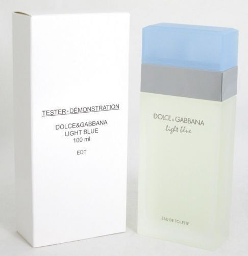 cool LIGHT BLUE Plain Box Eau de Toilette Spray for Women, 3.3 Fluid Ounce