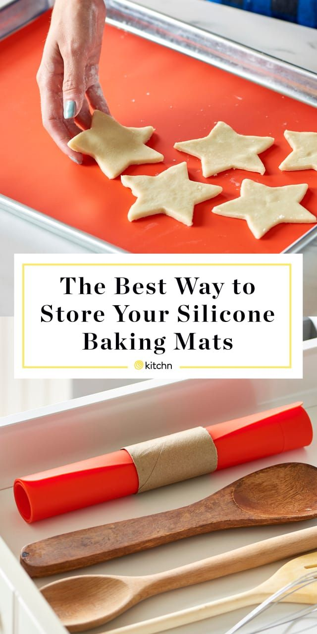 The Best Way To Store Your Silicone Baking Mats Silicone Baking Mat Baking Mats Silicone Baking