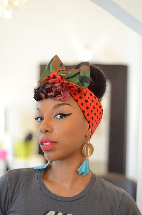Hairstyles With Bandana Gorgeous 58 Best Bandana Hairstyles  Images On Pinterest  Head Scarfs