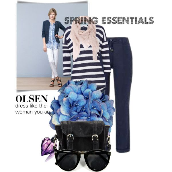 Olsen by simone-nexo-rasmussen on Polyvore featuring Poverty Flats, Faliero Sarti and Olsen