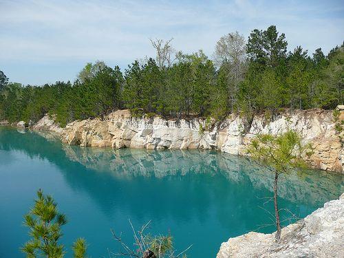 Beautiful East Texas The Blue Hole