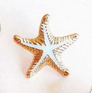 Sand and Sea Brooches
