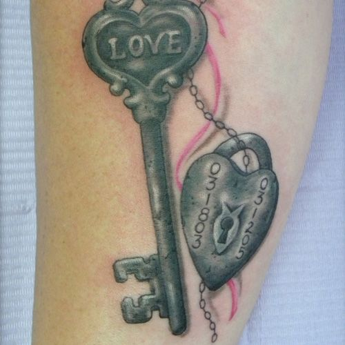 Pictures to Pin On Pinterest | Pin Best Tattoos For Men Lock And Key Couples On Pinterest - kootation ...