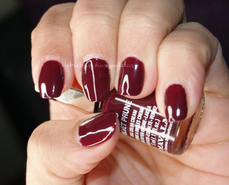 Velvet Prune nails perfect for Winter