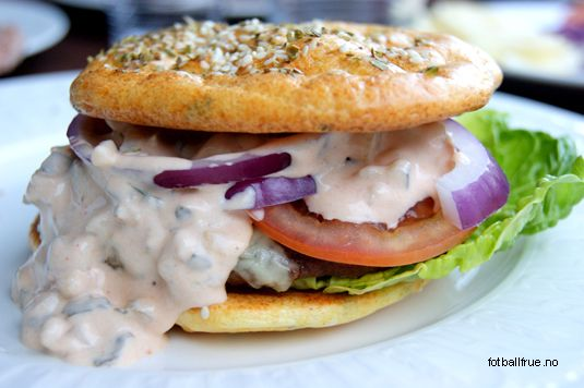 LCHF-burger