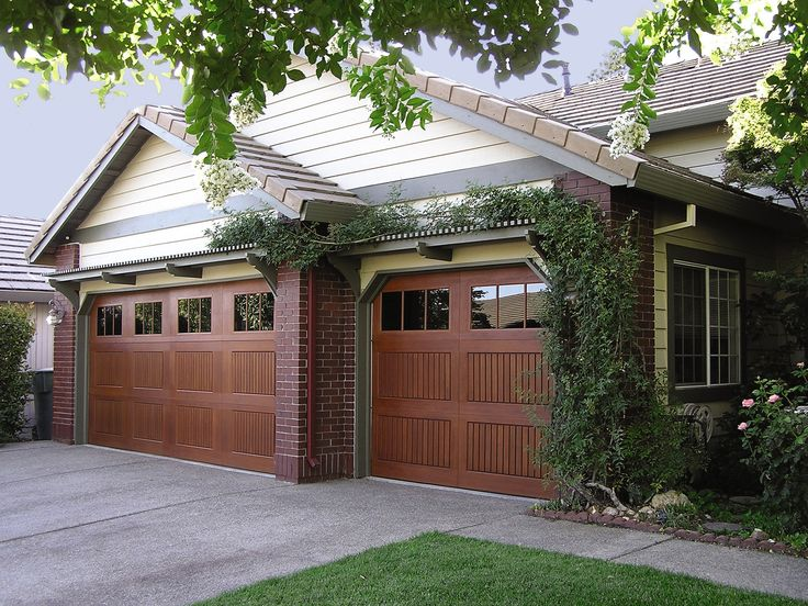 Overhead Door Company - Impression Collection. Fiberglass garage doors