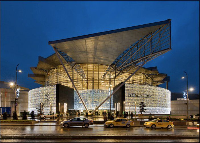 Istinye Park is a unique open-air lifestyle center and glass-roofed shopping mall with over 300 shops.
