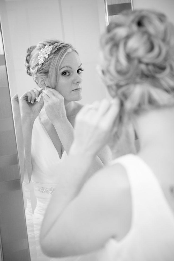 updo bride