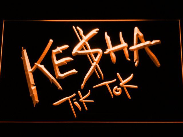 Kesha Tik Tok LED Neon Sign