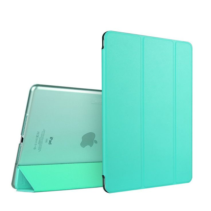 Amazon.com: iPad Air 2 Case, ESR Smart Case Cover with Trifold Stand and Magnetic Auto Wake & Sleep Function for iPad Air 2 / iPad 6th Generation (Mint Green): Computers & Accessories