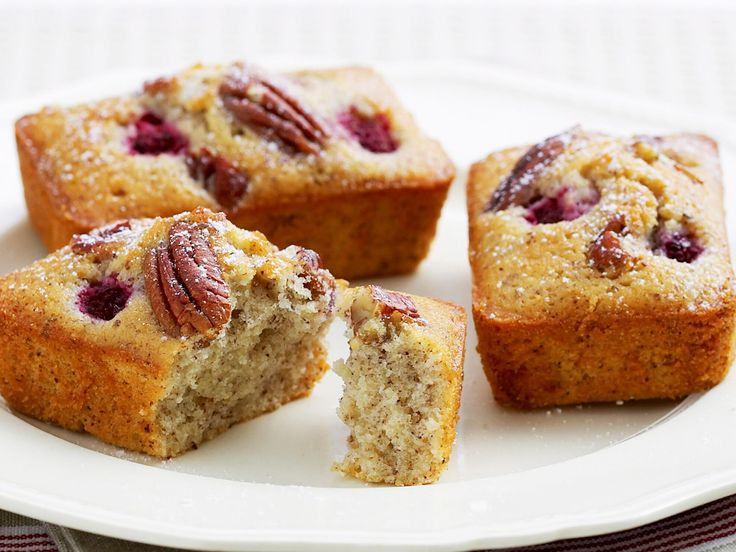 A cafe favourite, friands are easy to make and wonderful enjoyed as a sweet morning tea treat, or served warm after a meal as dessert. This little cakes are wonderfully slight and fluffy, and are topped with crunchy pecans and sweet, juicy raspberries for a real flavour hit.
