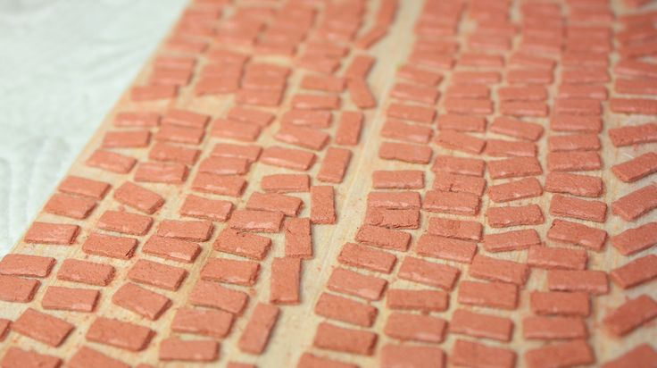 how to: miniature bricks (link to tutorial)