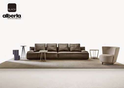 #morrison #sofa by #alberta A generous and amazingly comfortable sofa, an embracing refuge for total relaxation. With a narrow and practical base, large seat and back cushions, and a wide range of compositions to fit into any sort of living style. A series of additional back cushions make it even more comfortable, while remaining true to the modern and minimalist style.