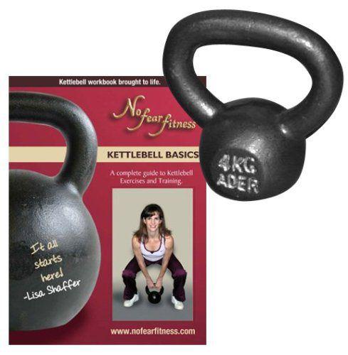 Ader Premier Kettlebell _ (4kg) & Lisa Shaffer's Kettlebell DVD - Review