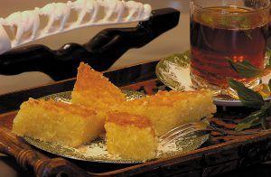 Basbousa - Arab grízes süti