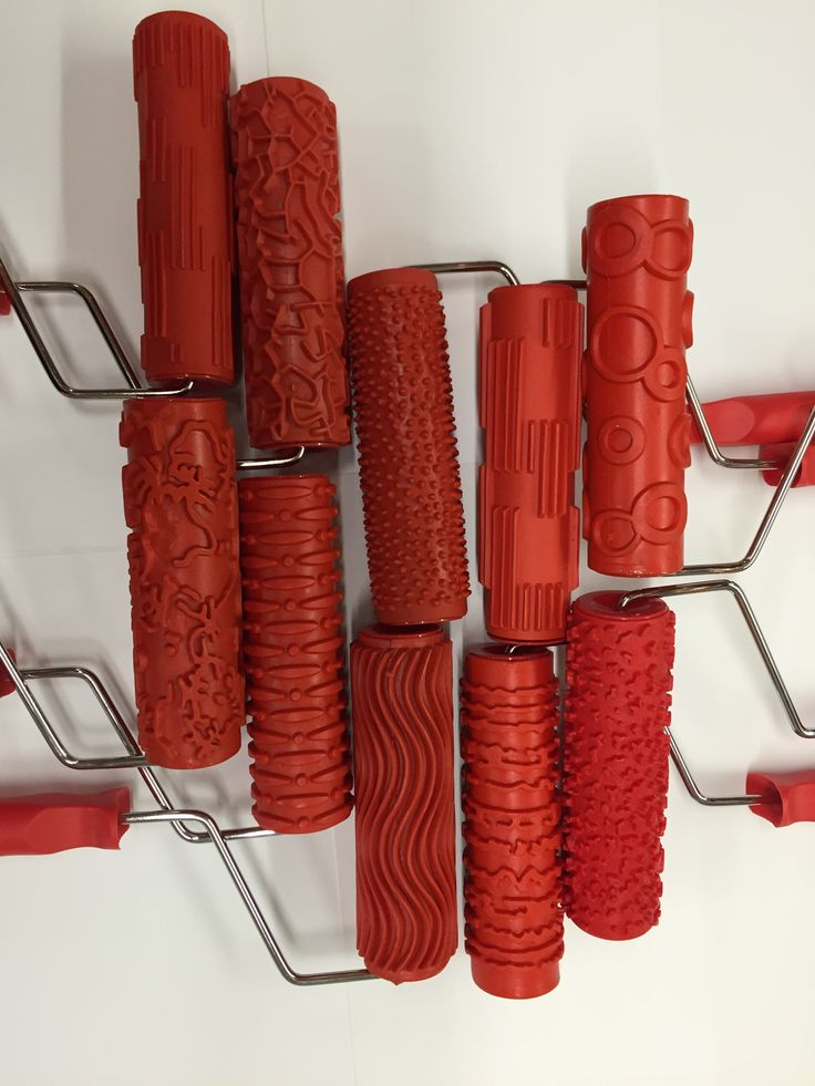 Decorative Patterned Rollers