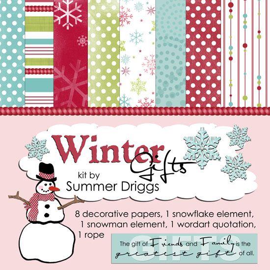 Digital scrapbooking freebies christmas papers