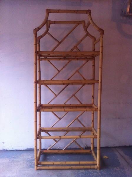 Rai Decor: Vintage Bamboo Etagere