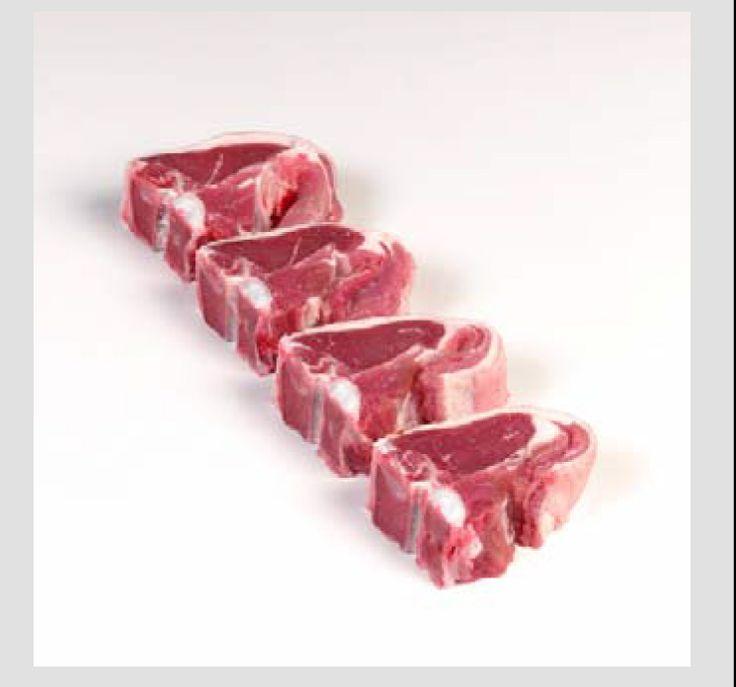 El corte de cordero conocido como T-bone, se obtiene utilizando la sección lumbar del lomo