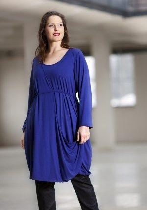 exelle, Yves Klein Blue, comfort style tunic-dress