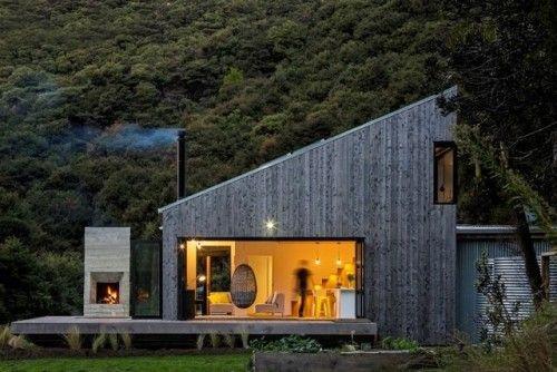 homeworlddesign: Family Retreat House Inspired by New Zealands Backcountry Hutshttp://ift.tt/2wU5khd