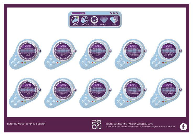 Graphic & Design for Control Widget ...