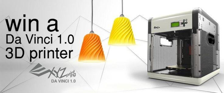 Win a Da Vinci 1.0 3D Printer