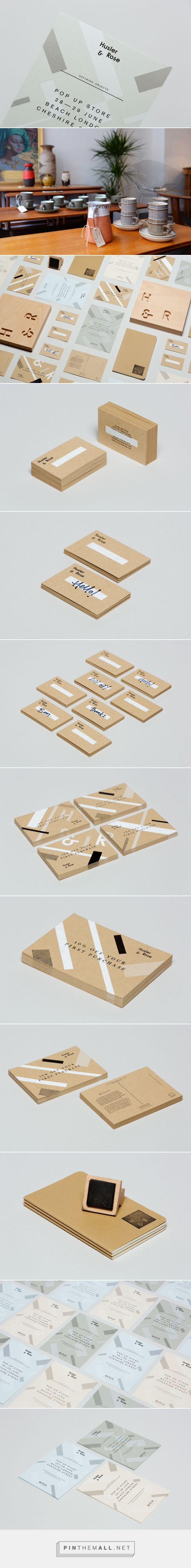 New Logo for Husler & Rose by Post — BP&O - created via http://pinthemall.net