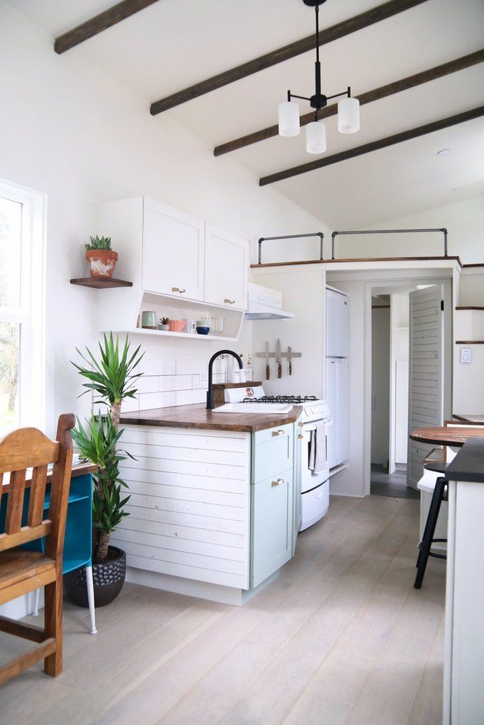 28 Coastal Craftsman Tiny House On Wheels By Handcrafted