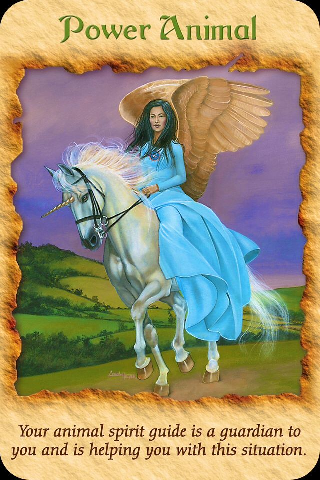 Resultado de imagen para tarot cartas angel therapy Animal power