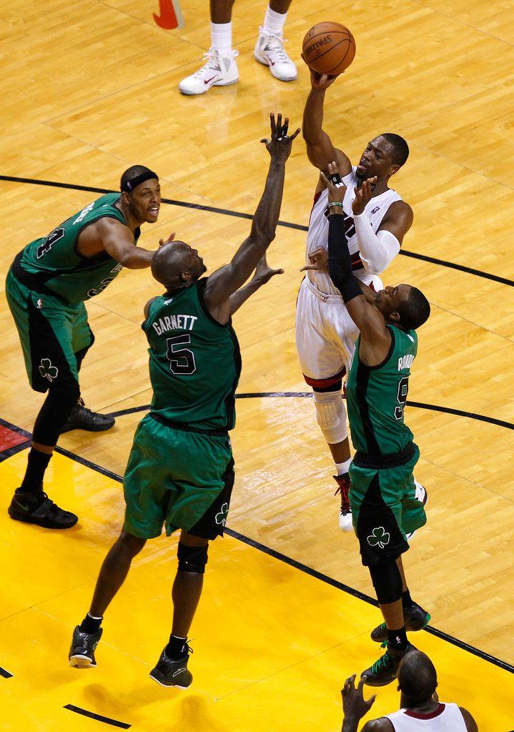 Rajon Rondo - Boston Celtics v Miami Heat - Game One