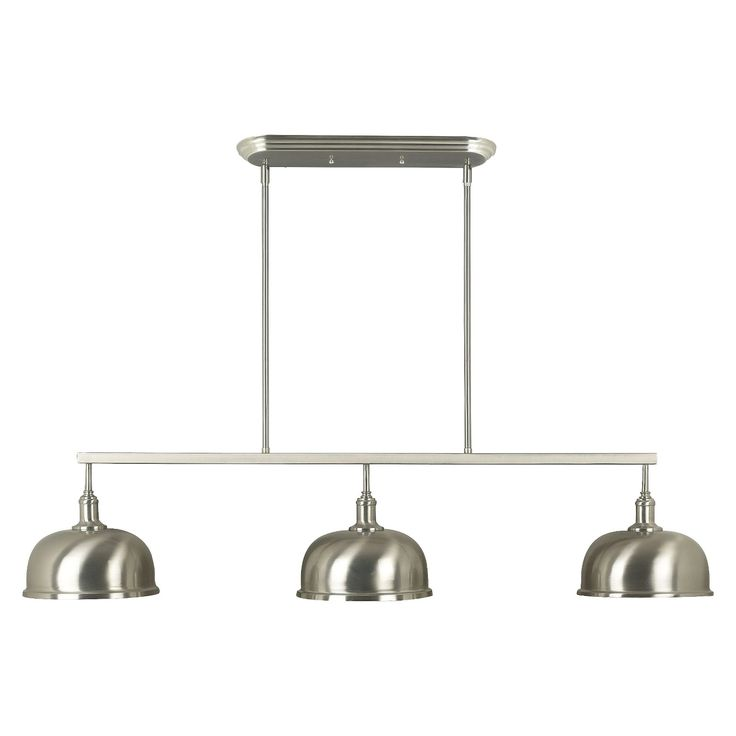 With a look and design that's got a distinctive modern vibe to it - think 50s diner crossed with a nautical theme - this Alice 3 Light Island Light - with its simple design and sleek brushed steel finish - will be a striking accent in your kitchen or dining room. Whether you've got a small or large space, these rooms are the central hubs of your home. As the gathering spaces where you prepare nourishing meals and then commune as a family unit, it's important that your ...