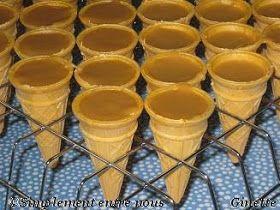 C ornets en sucre (micro ondes)       Ingrédients   1 conserve (300 mL) de lait condensé sucré, de marque Eagle Brand   2 tasses (500 ml) c...