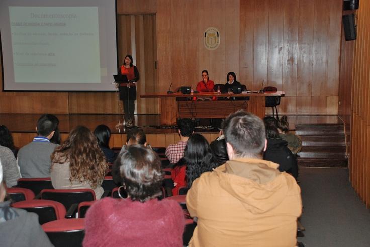 Semana de Conferências do Mestrado em Psicologia Jurídica e da Criminologia 2012/2013  Auditório da Universidade Fernando Pessoa - 7 a 11 Janeiro
